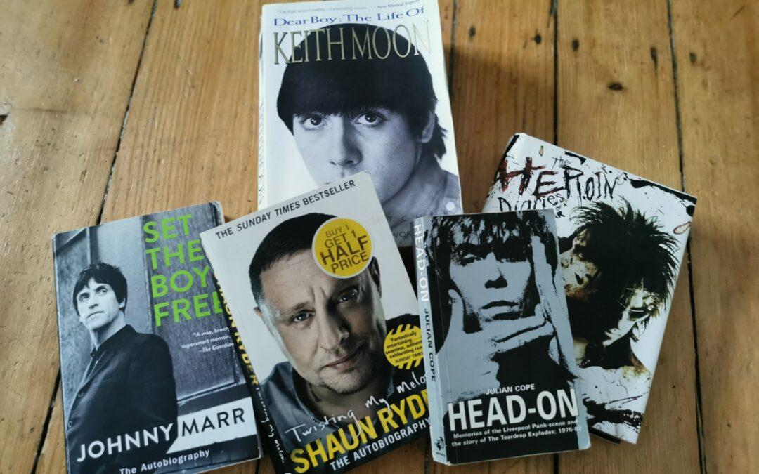 Lesestoff: Die fünf besten Musiker-Biografien in meinem Bücherschrank